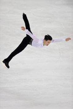 Denis Ten - ISU Grand Prix of Figure Skating