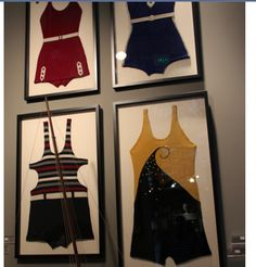 Framed Vintage Bathing Suits