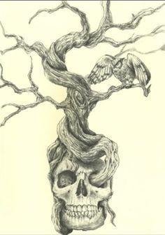 Skull tree                                                                                                                                                                                 More