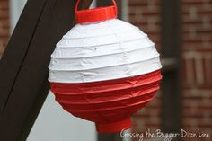 Crossing the Bugger-Dixon Line: Fishing Themed Garland {For a 1st Birthday Celebration}
