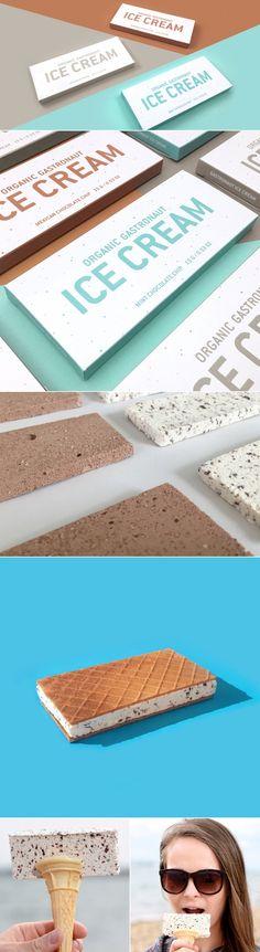 Gastronaut Ice Cream — The Dieline | Packaging & Branding Design & Innovation News