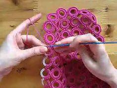 Crochet Side Stitch Here you can find crochet asymmetrical double sided flat leaf, crochet leaf for lace projects, Irish crochet leaf motif, crochet leaf with beads, free online. Crochet Bag Tutorials, Easy Crochet Projects, Crochet Videos, Crochet Basics, Tunisian Crochet, Irish Crochet, Diy Crochet, Crochet Leaves, Crochet Circles