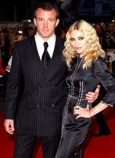 Madonna and Guy Ritchie----------Madonna's rep told the Associated Press she would pay her ex between $76 million and $92 million, which included their country home, Ashcombe, as well as the couple's London pub, the Punchbowl. Madonna later denied the monetary amount.