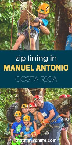 Zip lining with our kids in Manuel Antonio National Park in Costa Rica was the highlight of our trip. Even if you're afraid of heights like I am, you won't want to miss this! Check out this post for all you need to know about zip lining in Costa Rica! #costarica #manuelantonio #ziplining #familytravel Road Trip With Kids, Travel With Kids, Family Travel, Road Trip Games, Road Trips, Okinawa Japan, Kyoto Japan, Affordable Family Vacations, Best Travel Credit Cards