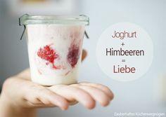 Joghurt selbstgemacht Froilein Pink Homemade, Vegetables, Tableware, Desserts, Pink, Summer Vibes, Food, Tasty, Yogurt