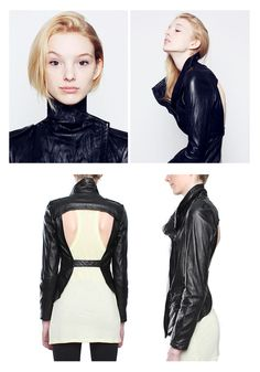 Kill City cut-out leather