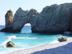 Lalaria Beach - Skiathos - Wikipedia, the free encyclopedia