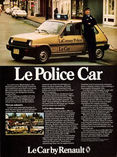 1978 Renault Le Police Car   by aldenjewell