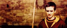 he's so cuteeee! Slytherin, Hogwarts, Sean Biggerstaff, Picses Facts, Oliver Wood, Harry Potter Facts, Nerd Stuff, Trivia, Gifs