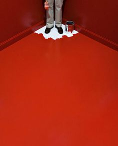 Creative Fun, Visual, and Red image ideas & inspiration on Designspiration Wow Photo, Photo Art, John Baldessari, Graphisches Design, Design Ideas, Graphic Design, Interior Design, Robert Doisneau, Red Aesthetic
