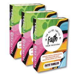"""42.00  Save $$! Get 3 packs at discounted price of $14 each PLUS combined shipping!  ** JUST LAUNCHED IN 2018! **   Want to have great God-centred conversations with your kids and teenagers?  It's easy with these Faith Talk Trigger Cards!      Fun """"would you rather"""" openers that engage teenagers      40 topics from Reputation to Forgiveness, Temptation to Peer Pressure      Great anytime: Dinner table, At the beach, Road trips Kid N Teenagers, Peer Pressure, Beach Road, Would You Rather, Dinner Table, Road Trips, Forgiveness, Product Launch, Packing"""