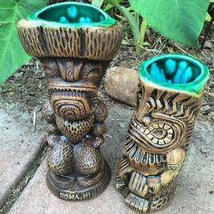 """Couple mugs fresh out of the kiln! #madeonmaui #alreadysold"""