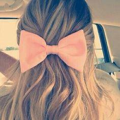 Laço. *-* #cut #romantic #pink