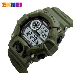 c4ffd832be6 Men Digital Sports Watches S-Shock SKMEI Watch Men Army Camouflage