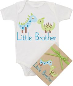"Morado Designs ""Little Brother"" Bodysuit"