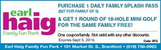 Ontario Coupon for Resorts, Events, Things to Do Ontario Attractions, Family Of 5, Enjoy Your Vacation, Got 1, Coupons, Things To Do, Mini, Summer, Stuff To Buy
