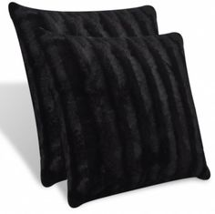 2 pcs Black Artificial Fur Pillow 45 x 45 cm  Make the Best this Amazing Opportunity. At Luxury Home Brands WE always Find Great Stuff for you :)