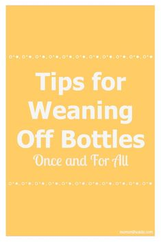 Is you child weaning from bottles?  These tips for Weaning Off Bottles are how we got our twins to get rid of them once and for all. #parenting #toddler #motherhood #tips