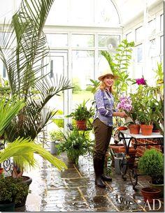 Cote de texas: VA Greenhouse/gardens. image