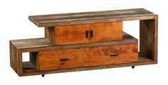 Peroba Wood Media Console by Landrino