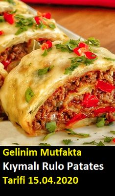 Turkish Recipes, Ethnic Recipes, Food Pictures, Lasagna, Baked Potato, Pasta, Good Food, Brunch, Food And Drink