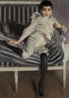 Giovanni Boldini (Italian, 1842 - 1931), Ritratto del piccolo Subercaseaux (1891).