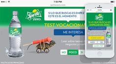 Coca Cola (Del Campo Saatchi & Saatchi) Sprite : Zero La filial argentina de la internacional Saatchi & Saatchi nos encargo la producción digital de esta aplicación multi-plataforma.