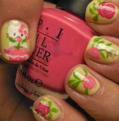 Hello Kitty - Spring Nails