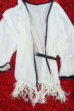White kimono!