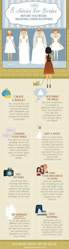 12 Wedding Dress Infographics To Make Your Shopping Easier ❤️ The most useful wedding dress infographics that will help you to make the right choice. Advice before your start wedding dress shopping. See more: http://www.weddingforward.com/wedding-dress-infographics/ #wedding #dresses #infographics #weddingplanninginfographic #weddinginfographic #weddingdress