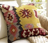 Kilim Pillow Cover, from Pottery Barn