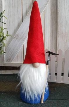 Check out this item in my Etsy shop https://www.etsy.com/listing/594533537/garden-gnome-scandinavian-nisse-tomte
