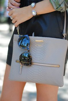 GiGi New York | Southern Curls & Pearls Fashion Blog | Crossbody