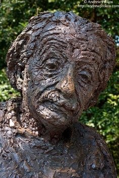 Albert Einstein Statue II - http://andrewprokos.com