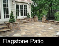 outdoor stone patio | COPYRIGHT © Maverick Landscaping - CONTACT US | PROJECT GALLERY ...