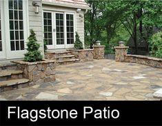 68 New Ideas flagstone patio steps plants Concrete Patios, Flagstone Patio, Backyard Patio, Backyard Landscaping, Stone Patios, Patio Stone, Concrete Backyard, Pool Pavers, Slate Patio