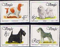 Venda 1994 Dogs Set Fine Mint                    SG 264 7 Scott 269 72  Other British Commonwealth Stamps for sale here