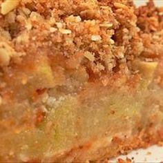Deep Dish Apple Pie with Brandy Pecan Crumb Topping on BigOven: This is one of the best apple pies ever, with a candied pecan crumb topping. It is a deep dish pie that can be made in a cast iron skillet for that rustic look, and it helps make a great pie crust. You can even leave it in the skillet to cool and serve it that way at tableside. If you would like to serve it with a generous portion of vanilla ice cream that would be fine or some would say even better. Enjoy!