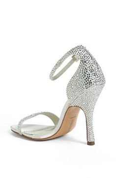 It's all sparkle with these Benjamin Adams sandals