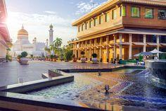 Brunej nákupné centrum