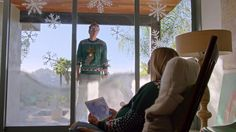 Kristen Bell & Dax Shepard are home for the holidays in this adorable new Samsung ad