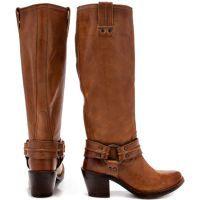 Carmen Harness Tall 77848 - Tan by: Frye Shoes