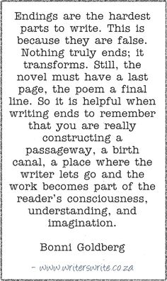 WritingQuote–Bonni Goldberg