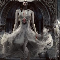 The Last Beating Heart / Album cover by Marcela Bolívar, via Behance