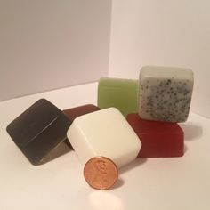 """Not too sure which """"Man Card""""-reclaiming soap bar is for you? Not to worry. We have you covered with our Manhandle Sampler Pack. For the price of one full bar you will receive a sample size of each of our six current scents."""