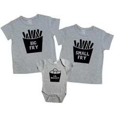 Pregnancy Announcment Sibling Shirt Set Small Fry Big Fry Little Nugget Lil Nugget Big Sister Shirt Big Brother Shirt New Baby Body Suit 479 - Funny Sibling Shirts - Ideas of Funny Sibling Shirts - Sibling Shirts, Sister Shirts, Dad To Be Shirts, Baby Shirts, Family Shirts, Kids Shirts, Vinyl Shirts, Onesies, Big Brother Little Brother