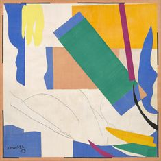 Henri Matisse. Memory of Oceania. Nice-Cimiez, Hôtel Régina, summer 1952-early 1953 | MoMA