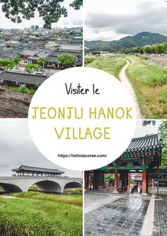 Visiter le Jeonju Hanok Village #jeonju #hanok #coréedusud #voyage Jeonju, Places Around The World, Around The Worlds, Destination Voyage, Korean Language, Blog Voyage, Travel Guides, South Korea, Travel Photography