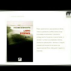 Graziano di benedetto. Libri italiani.  Libro d' estate. Narrativa