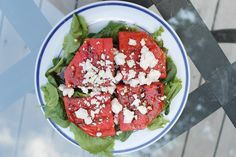 Grilled Watermelon Salad - Do Small Things with Love